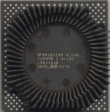 Intel BP80503200 SL23W