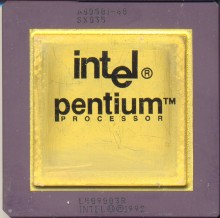 Intel A80501-60 SX835 'Processor logo'
