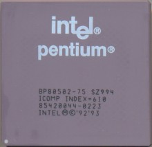 Intel BP80502-75 SZ994
