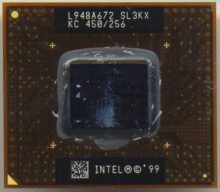 Intel Mobile PIII KC 450 256 SL3KX